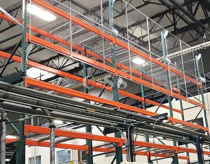 Pallet Racking For Boeing Company Huntington Beach