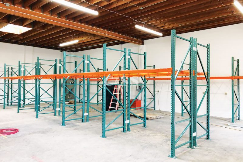 Pallet Racking For Local San Diego Coffee Business