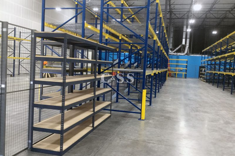 Pallet Racking For Solar Panel Materials