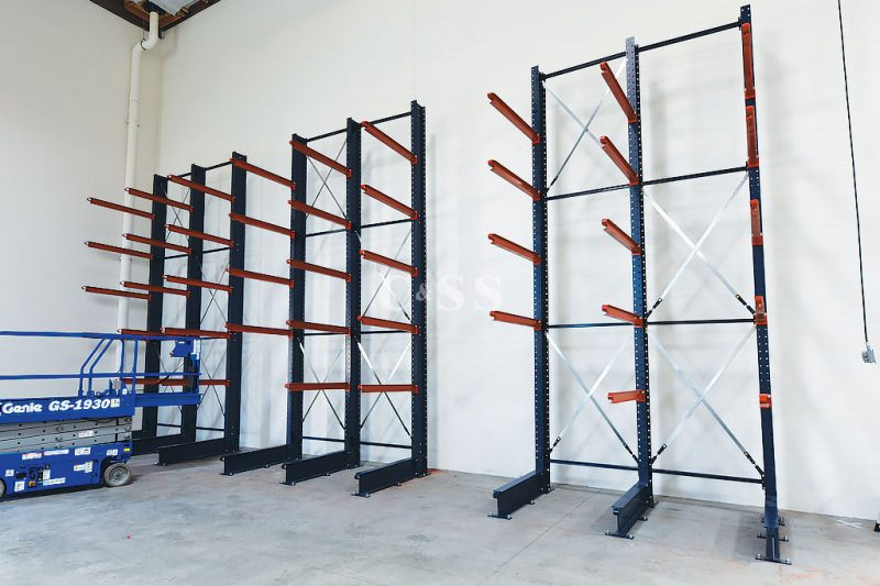 Pallet Racking Systems Layout For Door Materials