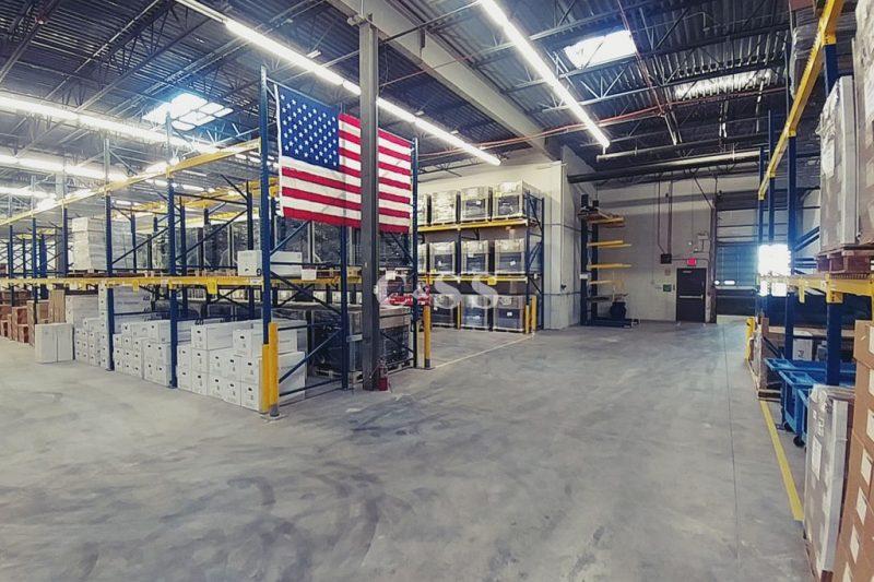 Solar Panel Pallet Rack Warehouse Storage