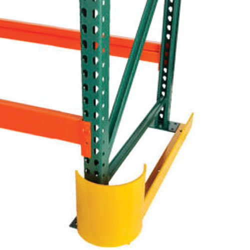 End Row Guard For Maximum Pallet Racking Protection