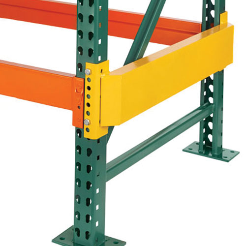 End Row Protector For Structural And Rolled Formed Frames
