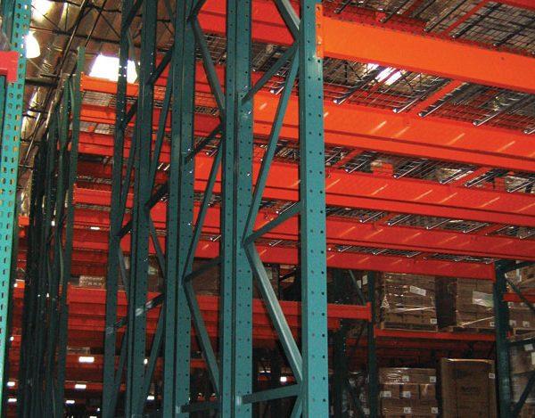 Hybrid Storage Racking Helps Warehouse Storage Needs