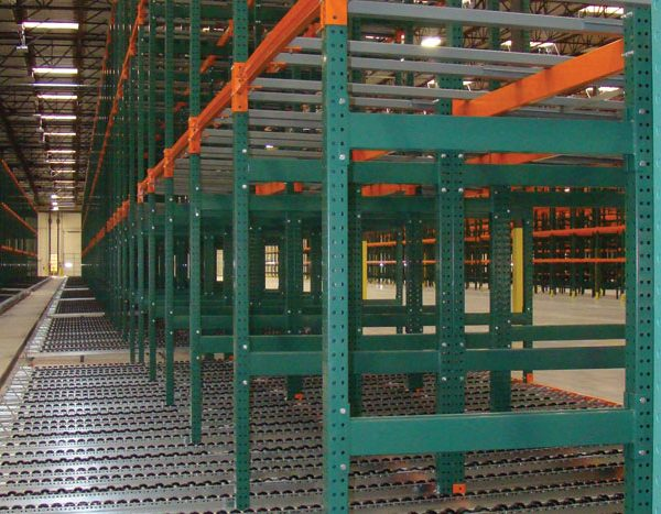 Pallet Flow Rack Rollers Helps To Move Pallets Easily