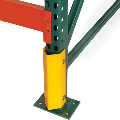 Pallet Rack Bolted Column Protector For Safety
