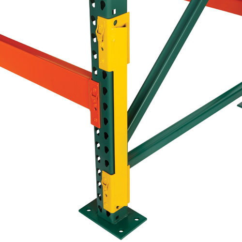 Side Column Protector For Pallet Racking Company Equipment