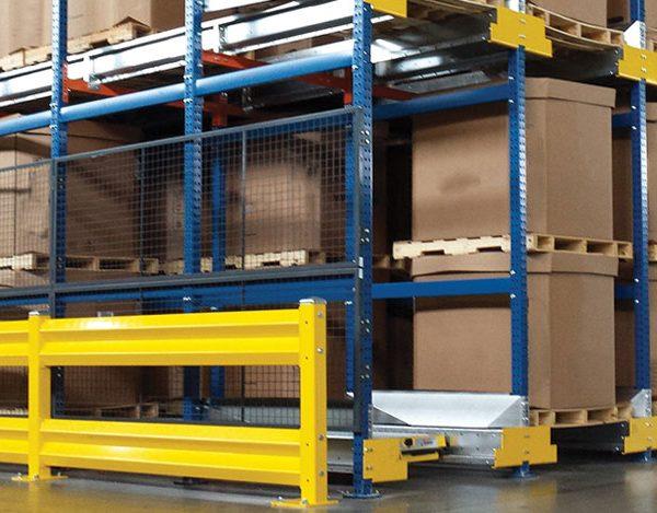 TubeRack Pallet Rack For Material Handling Industry
