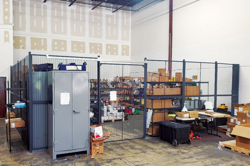 Cantilever Racks Were Utilized For Storage