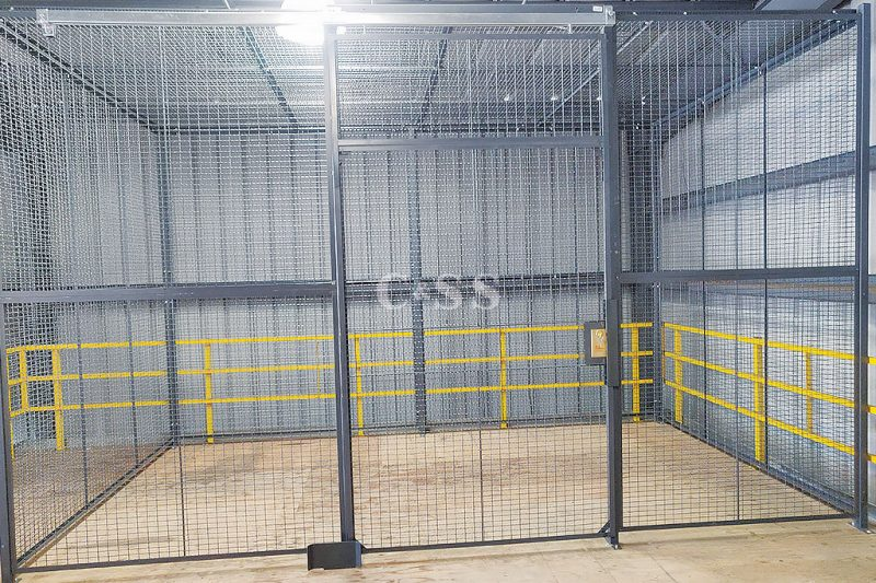 Installed Mezzanine For Maximum Security