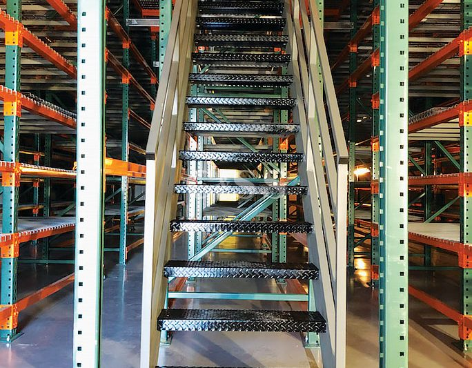 Pallet Racking Catwalk For Orange County Business