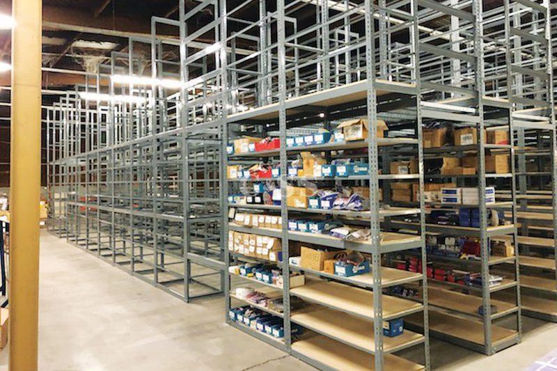 Boltless Shelving System For Calexico Automotive Company