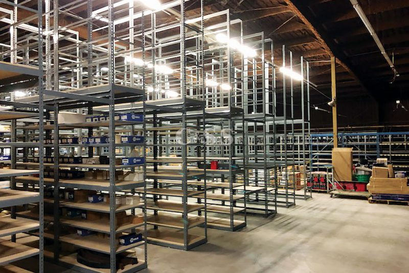 Boltless Shelving System Helps Warehouse Safety