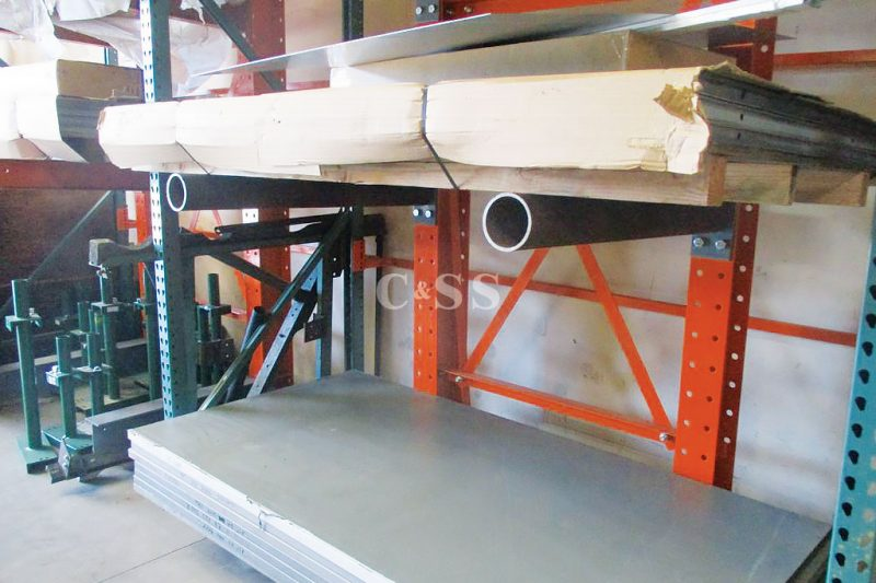 Cantilever Pallet Racking Helps With Forklift Safety