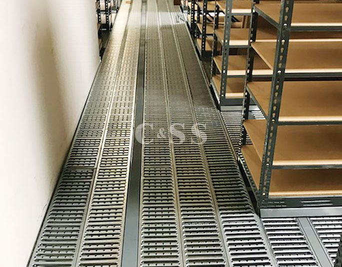 Catwalk Pallet Rack Storage System For Parts For Cars Company