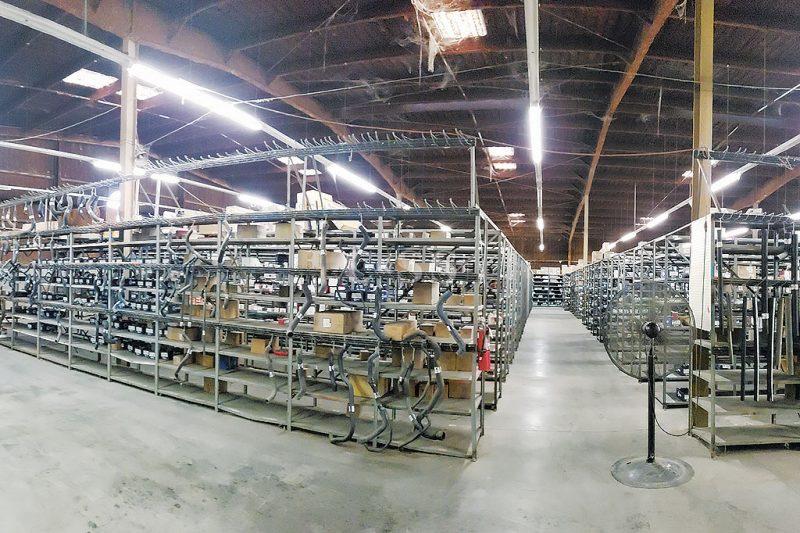 Catwalk Storage System For An Automotive Parts Center