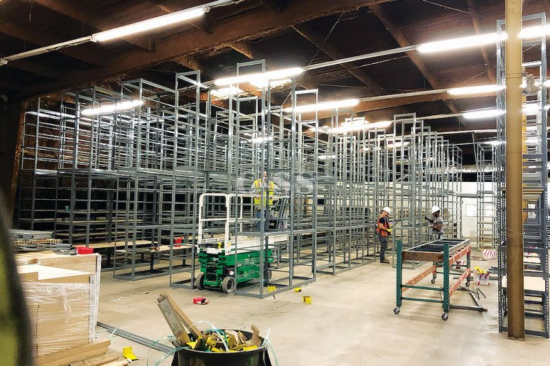 Catwalk Storage System For Napa Autocare Centers
