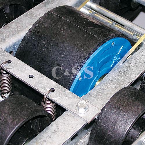 Direct Mount Speed Regulator for Safety Pallet Storage