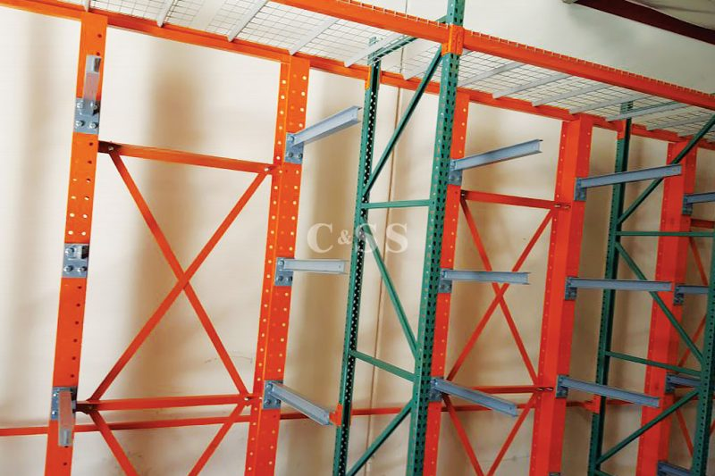 Elevator Business Protects Materials With Pallet Storage Racks