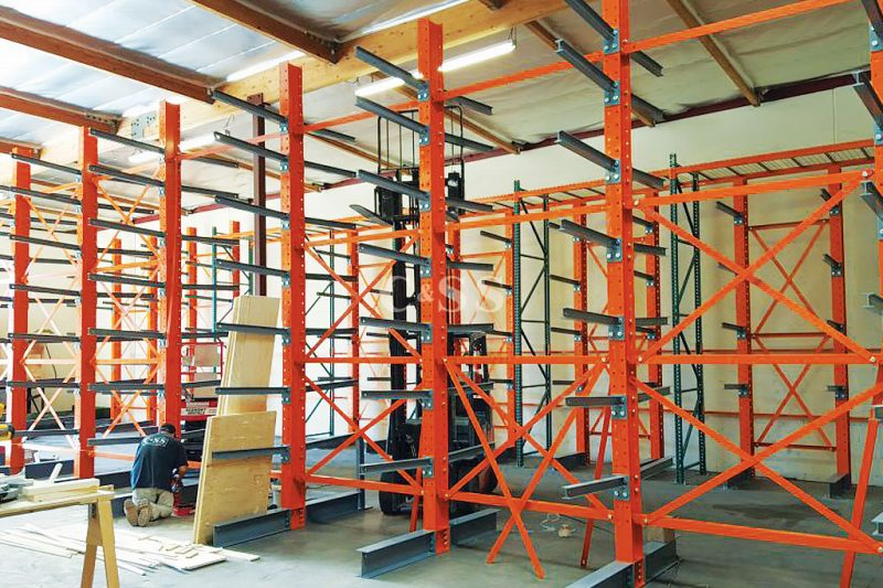 Elevator Company Protects Materials With Pallet Storage Racks