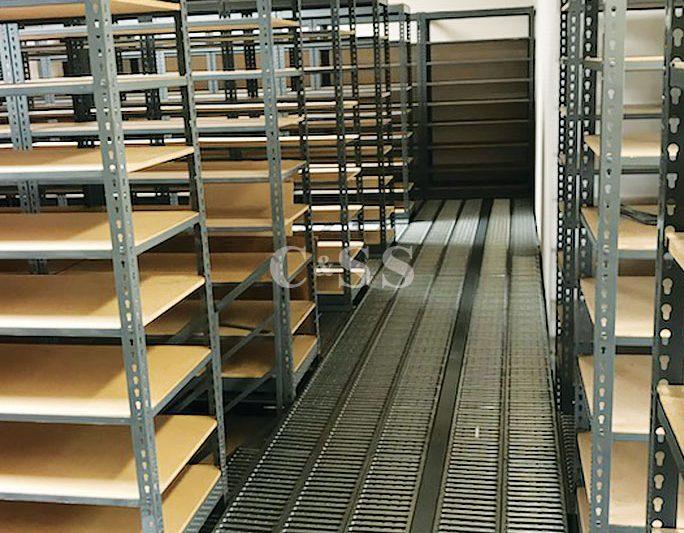 Forklift Safety With Catwalk Pallet Rack Storage System