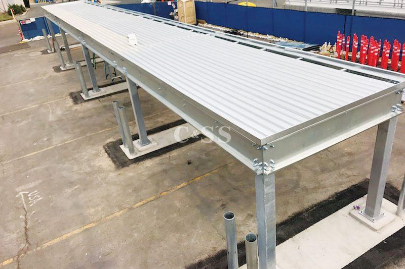 Galvanized Steel Pallet Racking For Energy Business