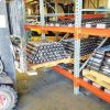 Heavy Duty Push Back Storage For Forklift Safety
