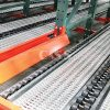Heavy Duty Roller Pallet Flow Rack With Entry Guides