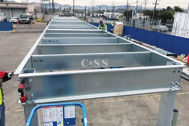 Pallet Racking For Worlds Largest Lithium Battery Storage