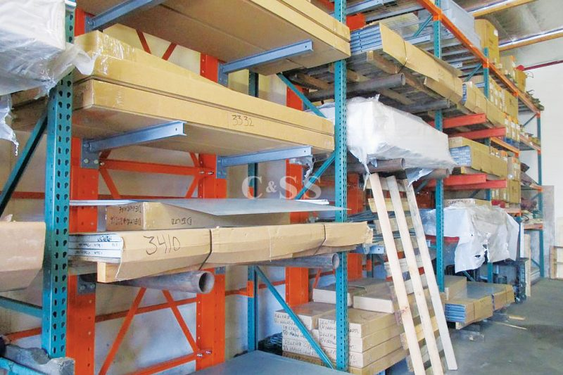 Pallet Racking Protects Valuable Elevator Machines
