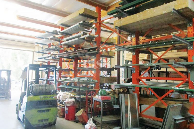 Pallet Racking Shelves Secures Valuable Elevator Equipment