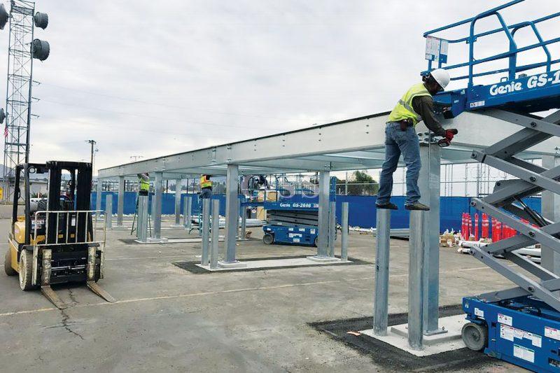 Pallet Racks Make For Good Forklift Safety