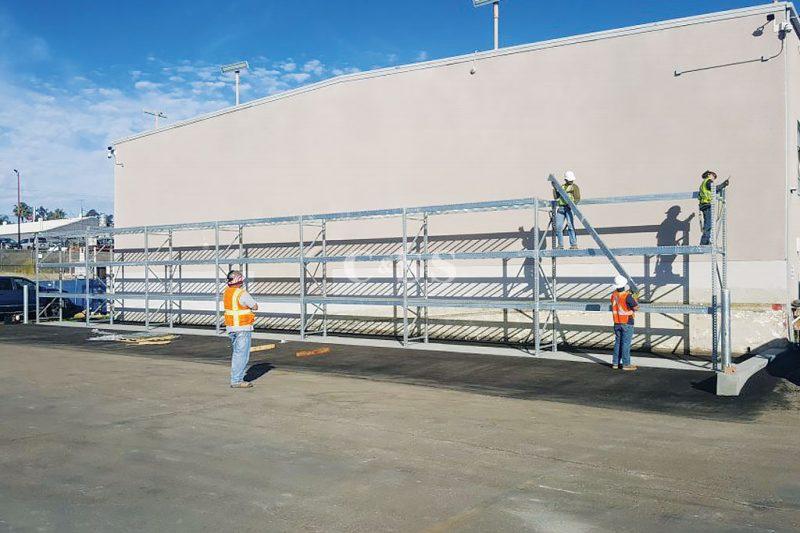 San Diego Energy Storage Facilities Uses Pallet Racking
