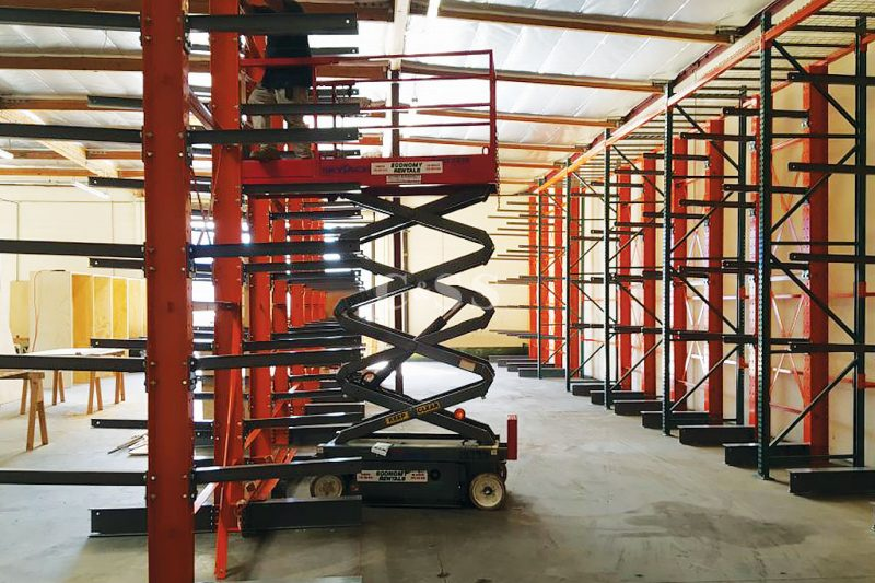 Wire Pallet Racking Shelves Stores Elevator Equipment