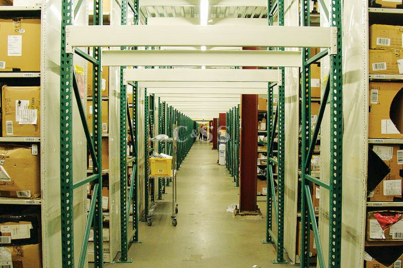 Clothing Company Uses Pallet Storage Rack For Forklift Safety