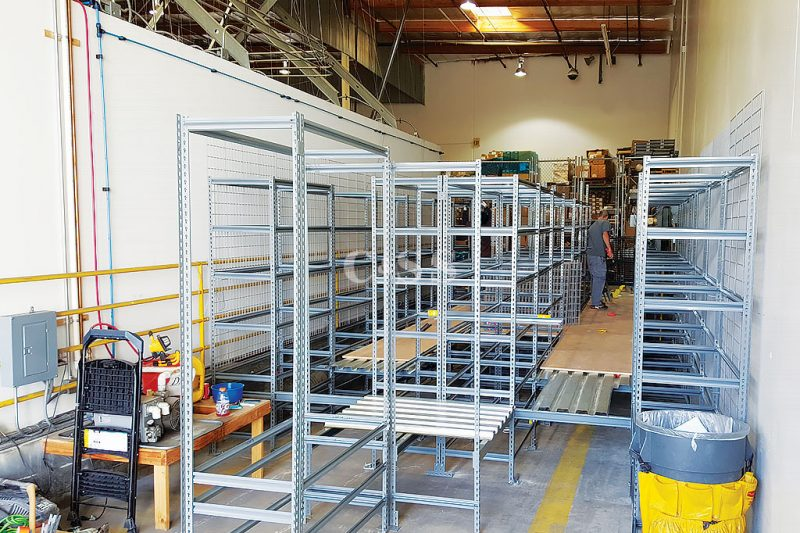 Catwalk Storage Racking Helps With Forklift Safety