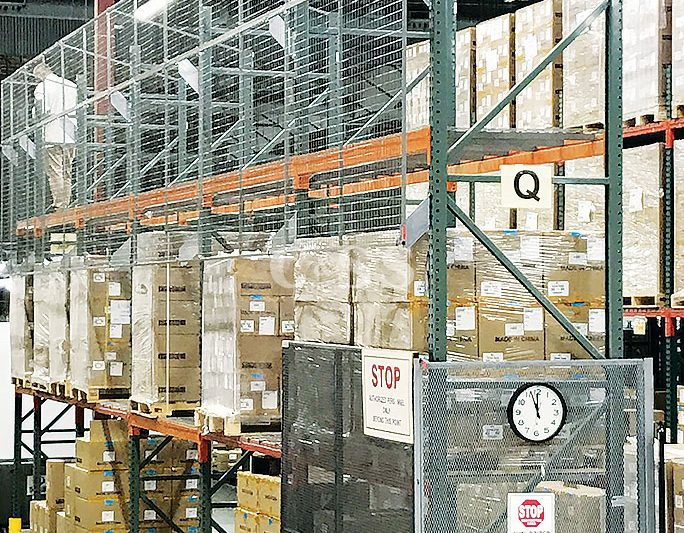 Computer Business Pallet Racking For Earthquake Safety