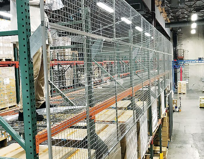 PC Company Pallet Racking System For Forklift Safety