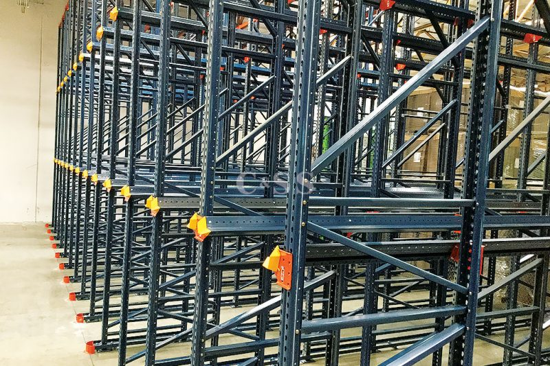 Drive In Pallet Racking System Improves Fire Safety