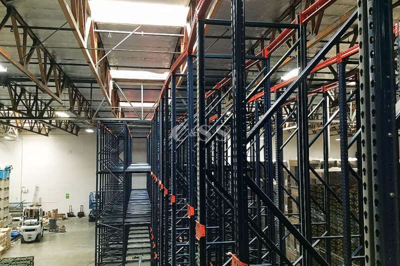 Drive In Pallet Racking System To Preserve Family Owned Produce