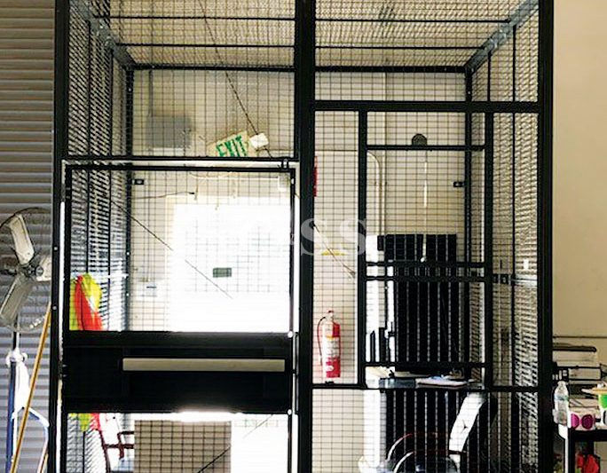 Driver Access Cages Provides Security Logistics Facility