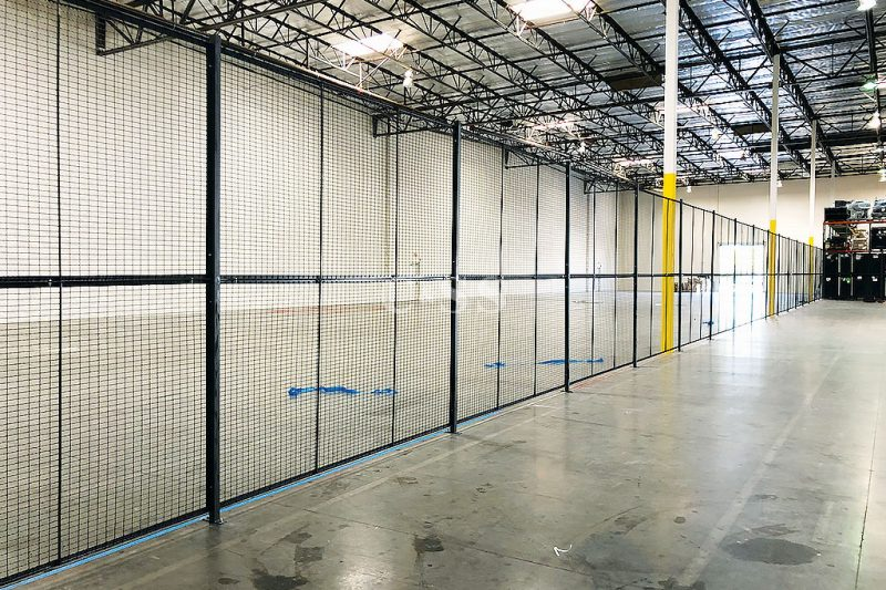 High Fence Wire Partition for Earthquake Safety