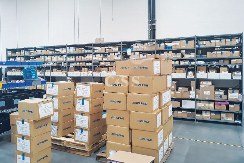 Pallet Racking and Shelving To Protect Automotive Electronics