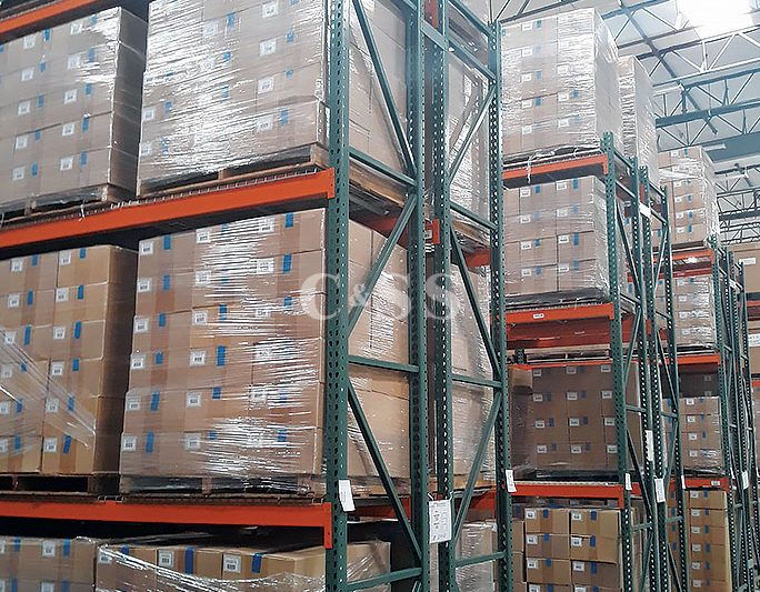 Pallet Racking and Shelving To Protect Mobile Electronics