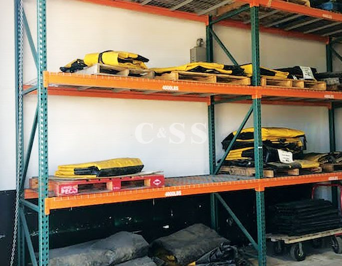 Pallet Racking Protects Equipment Rental Company Products