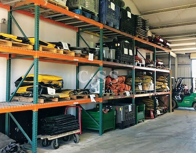 Pallet Racking Shelving Storage for Earthquake Safety