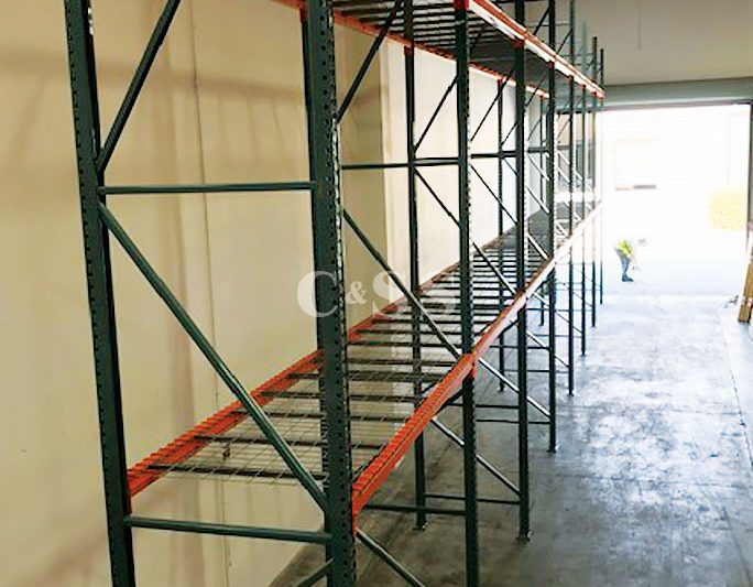Pallet Racking Shelving to Secure Infrared Sauna Products