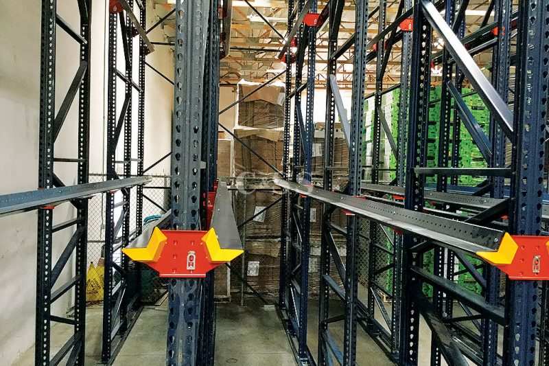 Secured Company Produce with Drive In Pallet Racking System