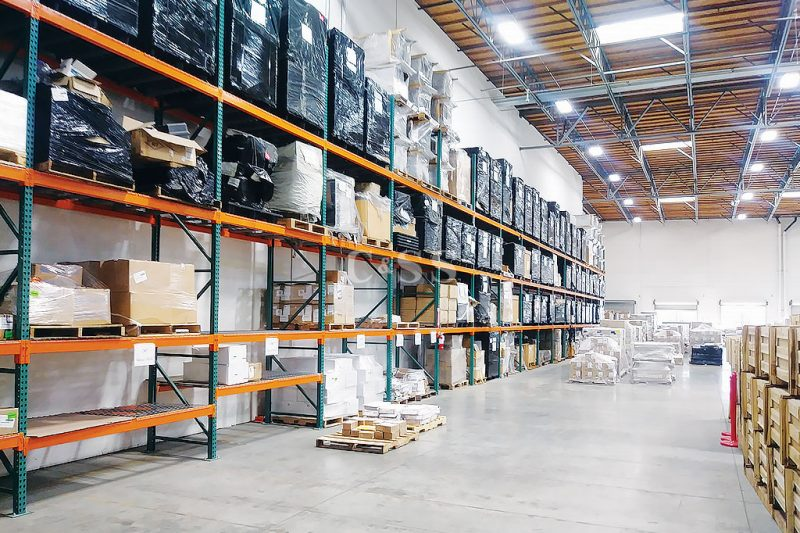 Selective Pallet Racking to Secure Logistics Materials