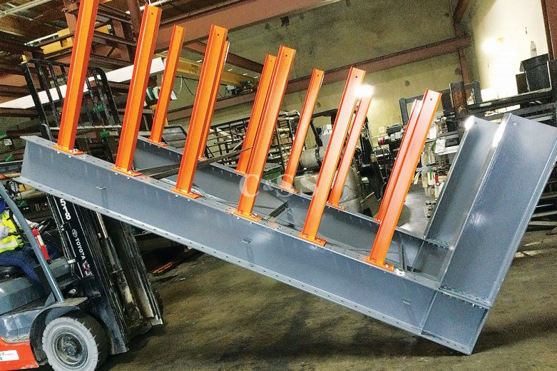 Structural Steel Cantilever Rack for The Steel Business